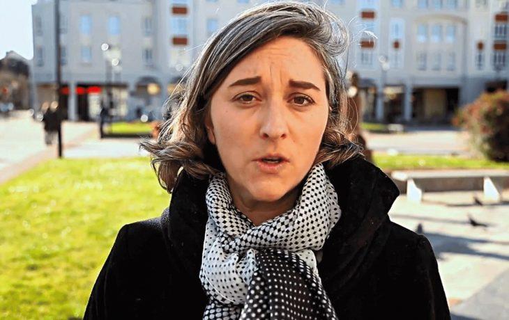 Stéphanie, habitante de Mantes-la-Jolie