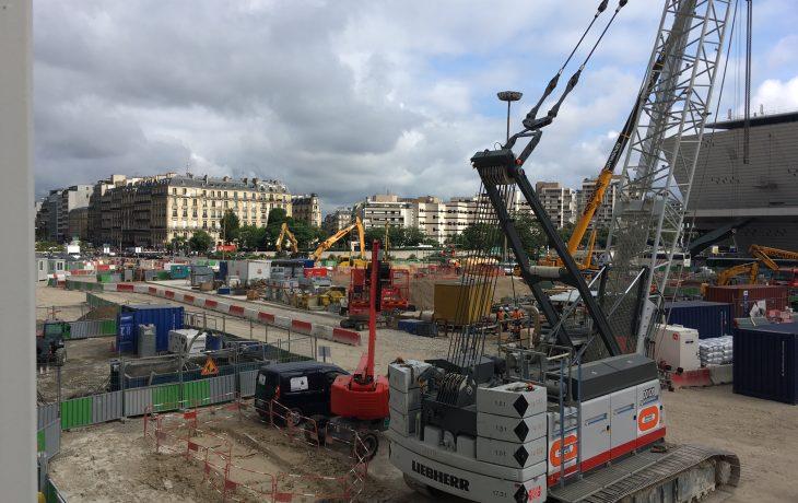 Fermeture du couloir de correspondance entre M1 et RERC et le Palais desCongrès