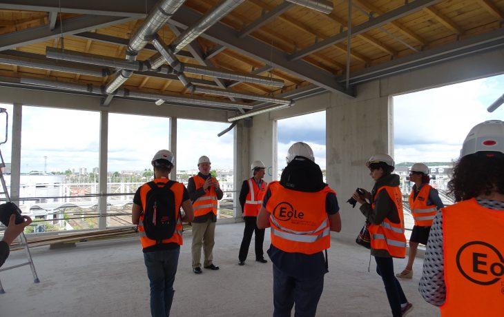 Visite chantier du bâtiment voyageurs de Mantes-la-Jolie