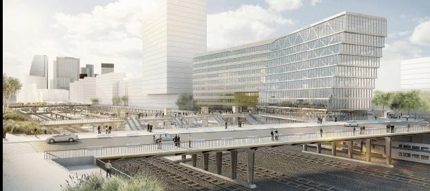 Désignation de l'architecte de la nouvelle gare de Nanterre-La Folie