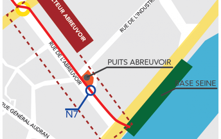 Travaux de nuit à Courbevoie du18au19 juillet 2018