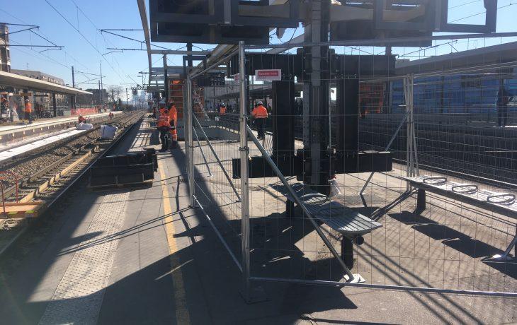Des travaux en gare de Houilles auront lieu le week-end du 19 au 21 avril.