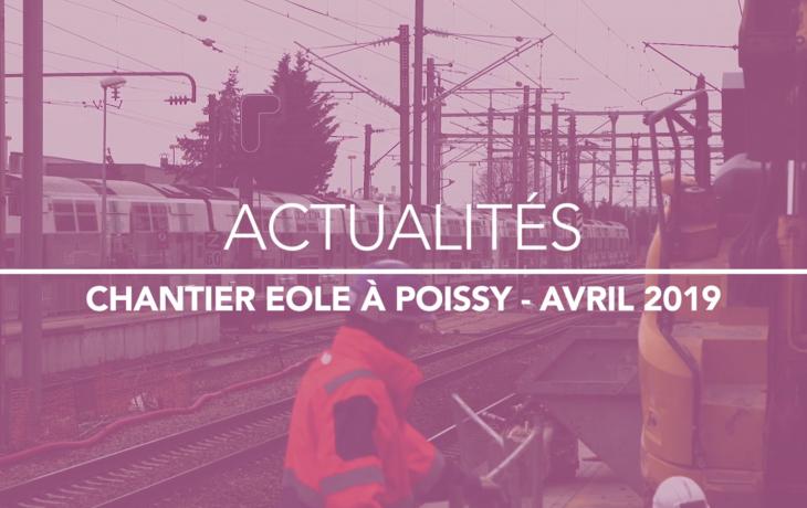 Gare de Poissy : pose de la sortie souterraine depuis les quais A/B