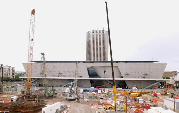 Le chantier de la Porte Maillot présenté par Laurent Rostykus, Directeurd'opérations