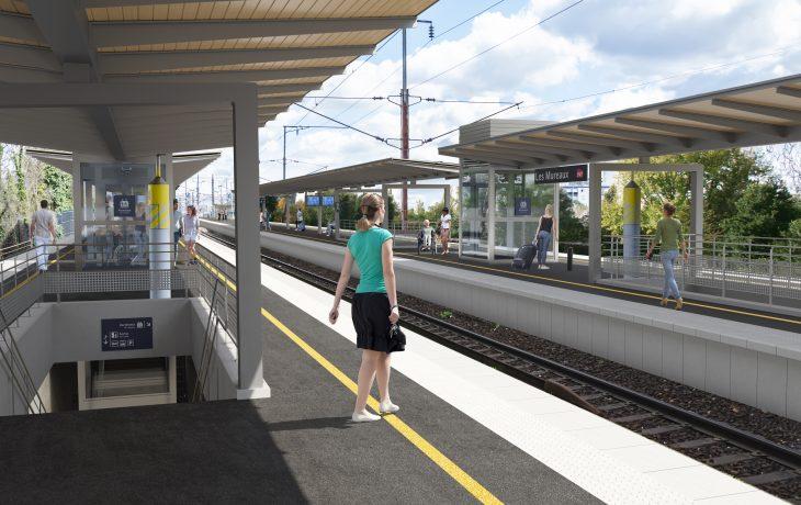 Retour sur la réunion publique d'informations des travaux Eole en gare des Mureaux du 24 septembre