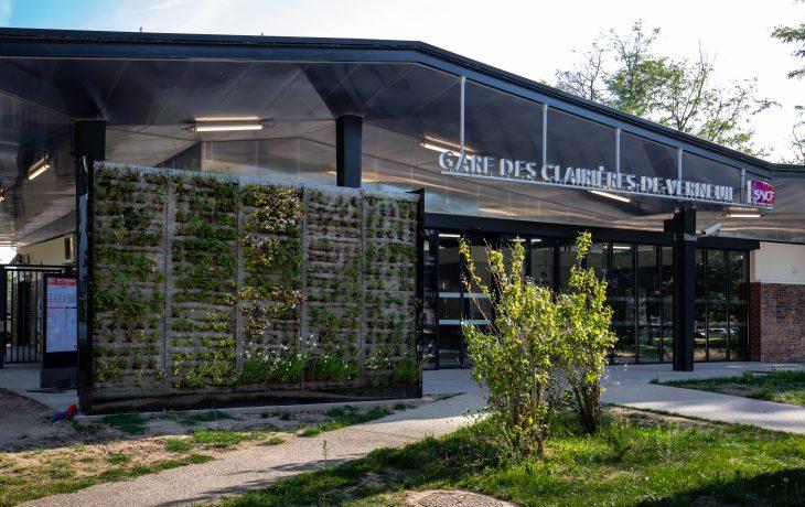 1er effet Eole en gare des Clairières de Verneuil : inauguration de la gare rénovée Jeudi 5 septembre