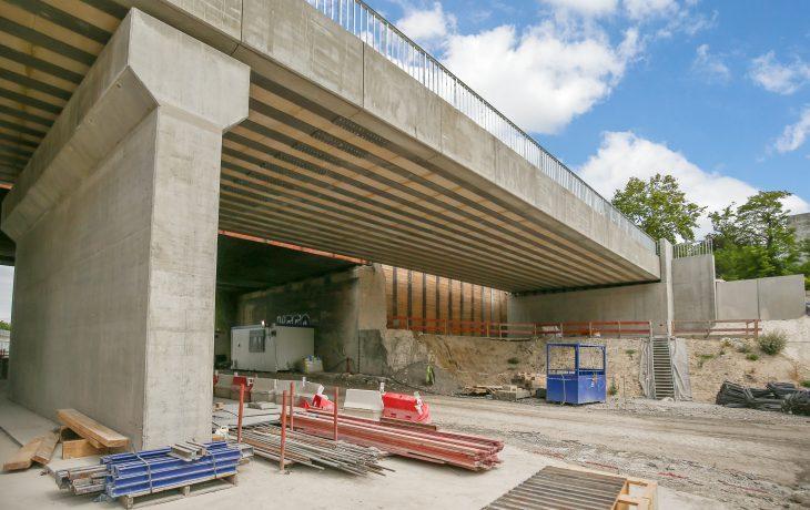 Élargissement du Pont Arago : Seconde étape des travaux à Nanterre