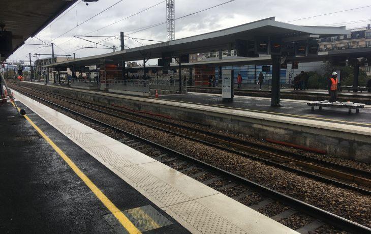 Houilles : les travaux en gare touchent à leur fin
