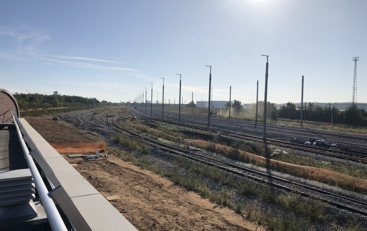 Le chantier du garage d'Issou Gargenville fait la trève des confiseurs du 23 décembre au 5 janvier 2020