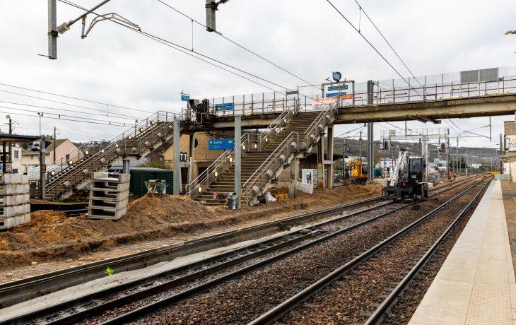 Reprise d'activités en gare d'Epône-Mézières depuis lundi 11 mai