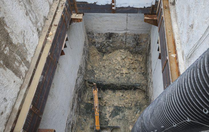 Reprise progressive de l'activité du puits Hôtel-de-Ville