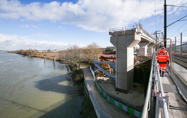 Appui du Pont-Rail de Bezons