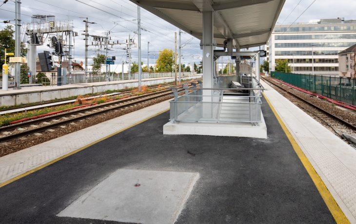 Nouvelle sortie souterraine vers la gare routière