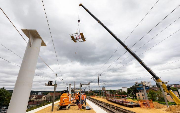 Les deux prochains week-ends travaux en gare des Mureaux.