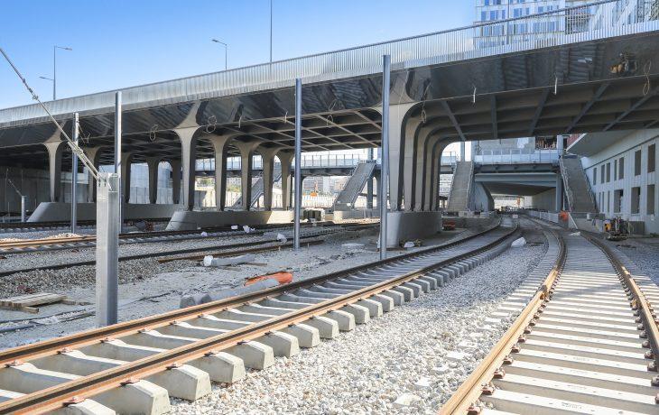 Passage aux travaux ferroviaire