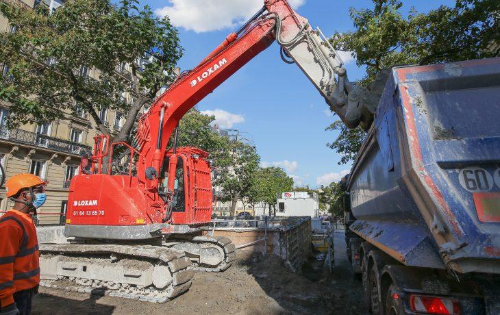 Maintien du chantier Carnot pendant la deuxième période de confinement
