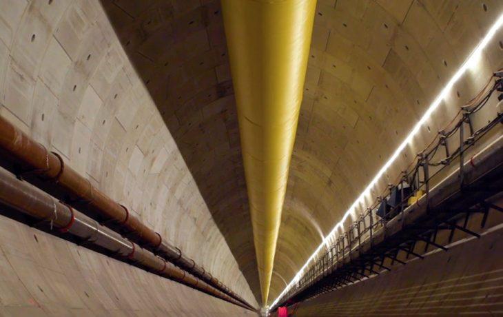Le voyage du voussoir 12920: plongez au cœur du tunnel du futur RERE