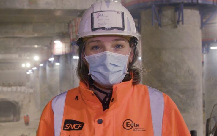 La Défense: suivez le guide! Visite du chantier par Aurélie CARNEL, directrice des opérations