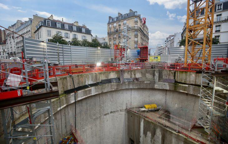 Les travaux 2021-2022 sur le Puits Gouraud