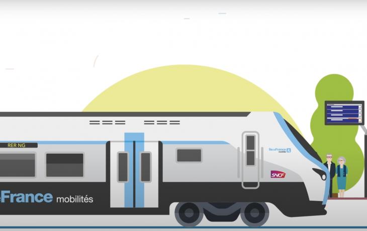 Le nouveau RER NG – vitrine du mass transit
