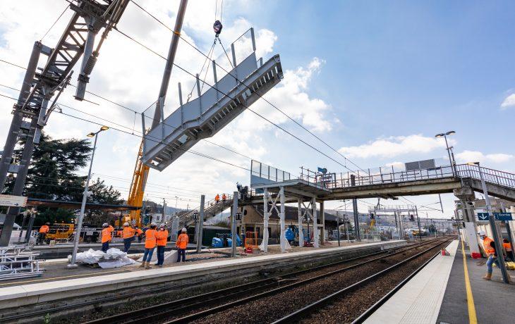 Les travaux en gare sont en phase d'être terminés