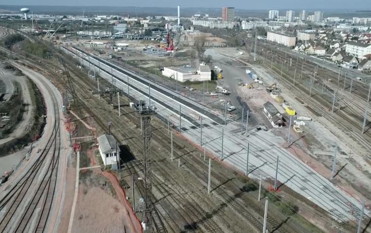Modification du plan de voies dans le secteur de Mantes-la-Jolie – retour en images