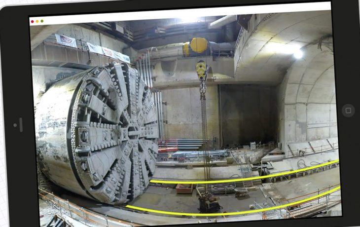 Les Défis Eole : comment déplacer un tunnelier de 2500 tonnes sur près de 100 mètres?
