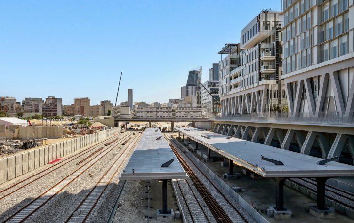 Gare de Nanterre – abris de quai