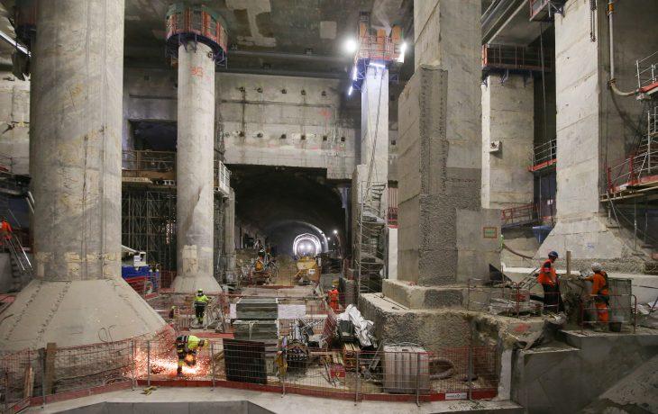 Gare La Défense – tunnel
