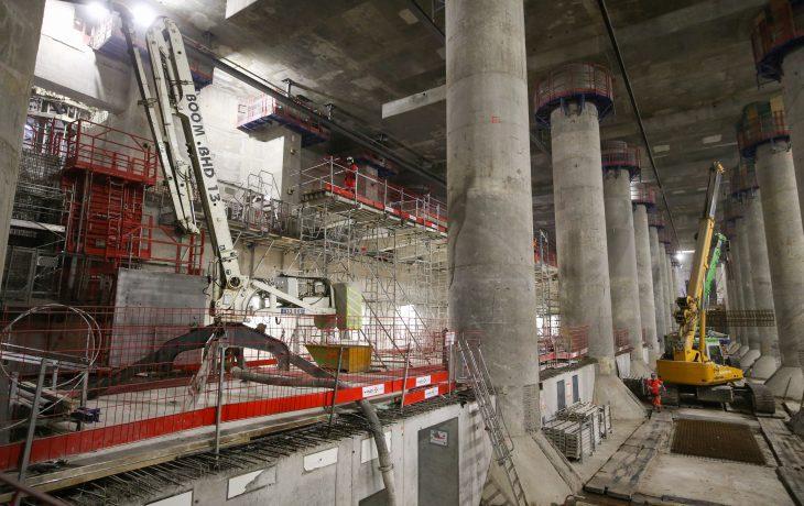 Gare La Défense – quai central
