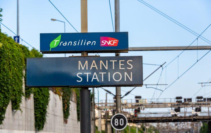 Retour en image sur les travaux de la gare de Mantes station